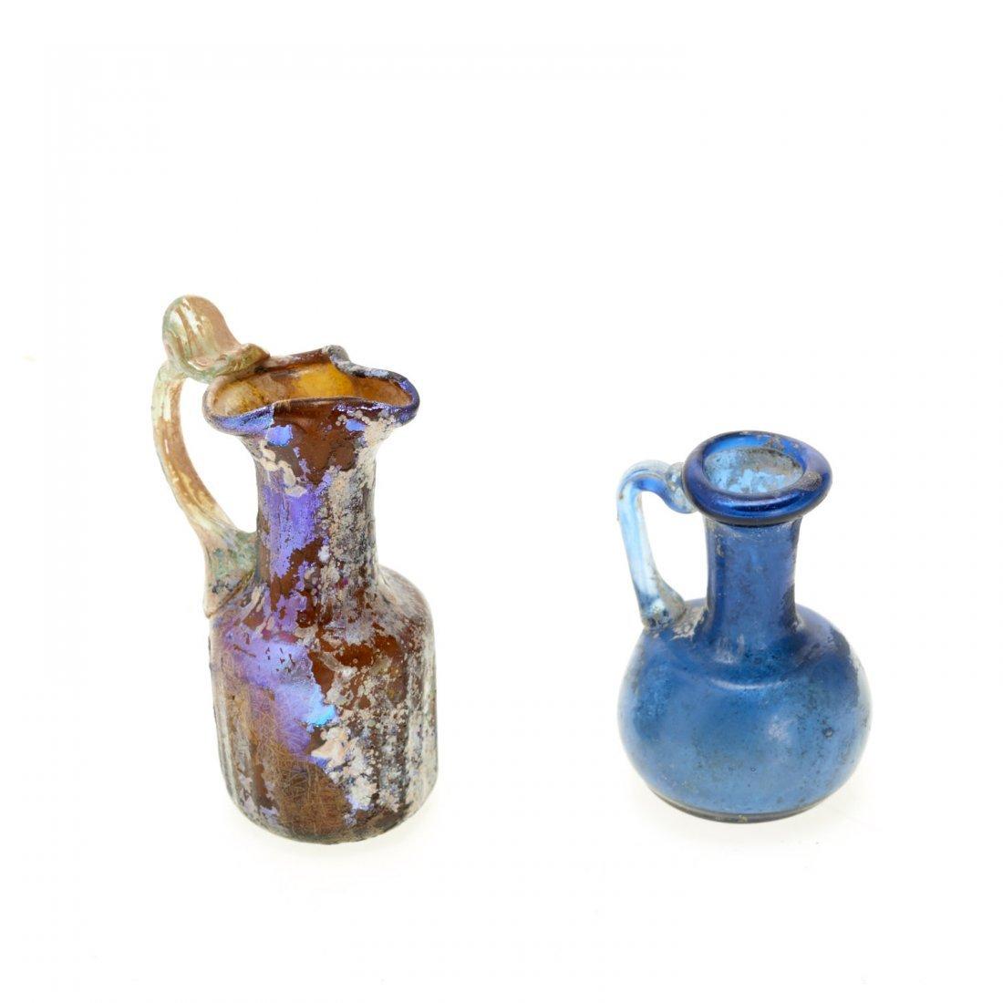 (4) Ancient Roman glass articles - 7