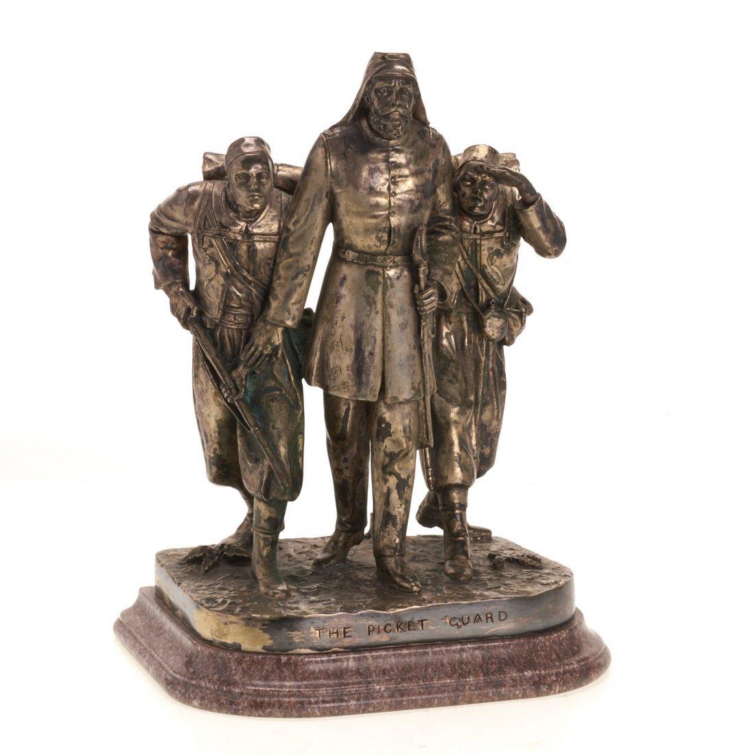 John Rogers, bronze sculpture