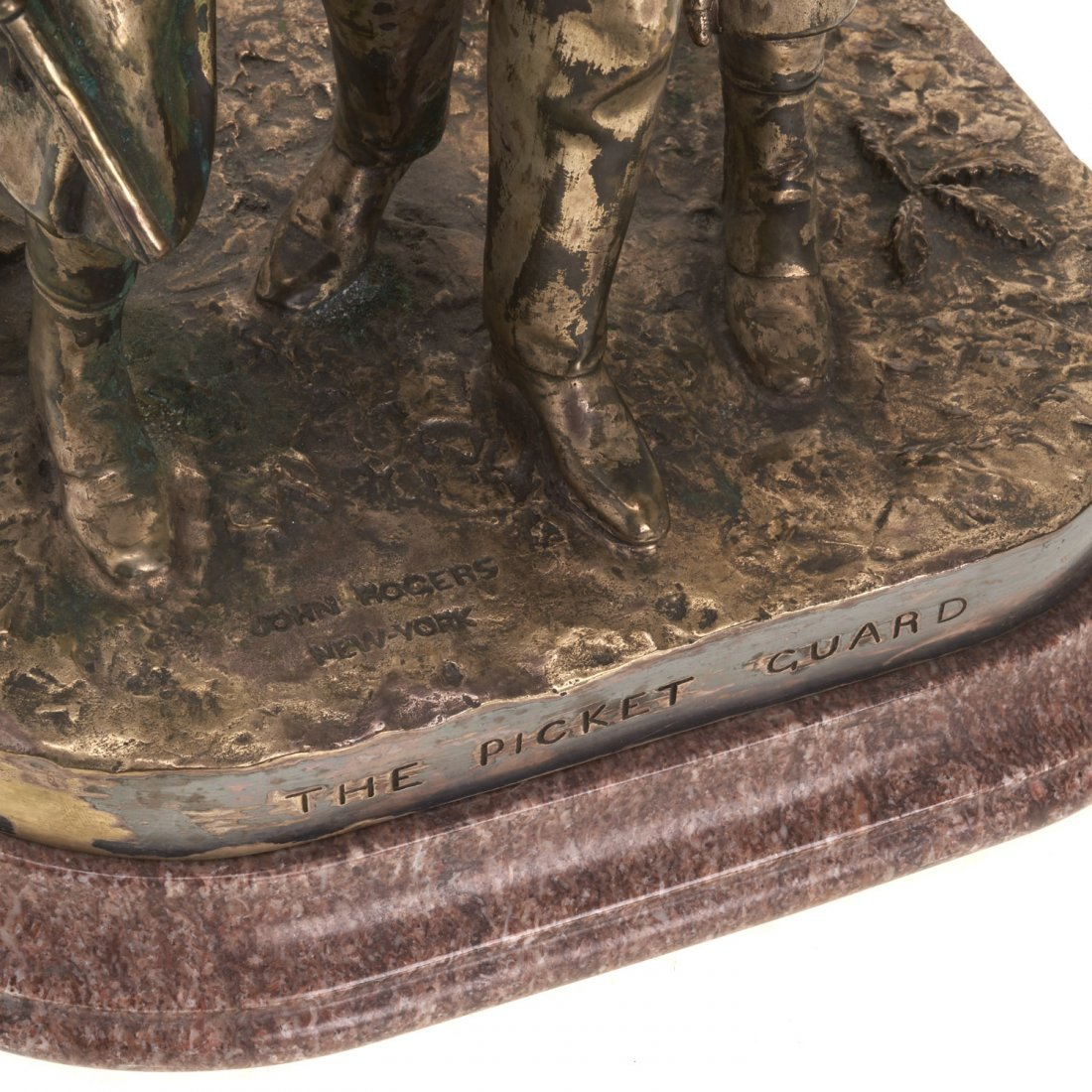 John Rogers, bronze sculpture - 2