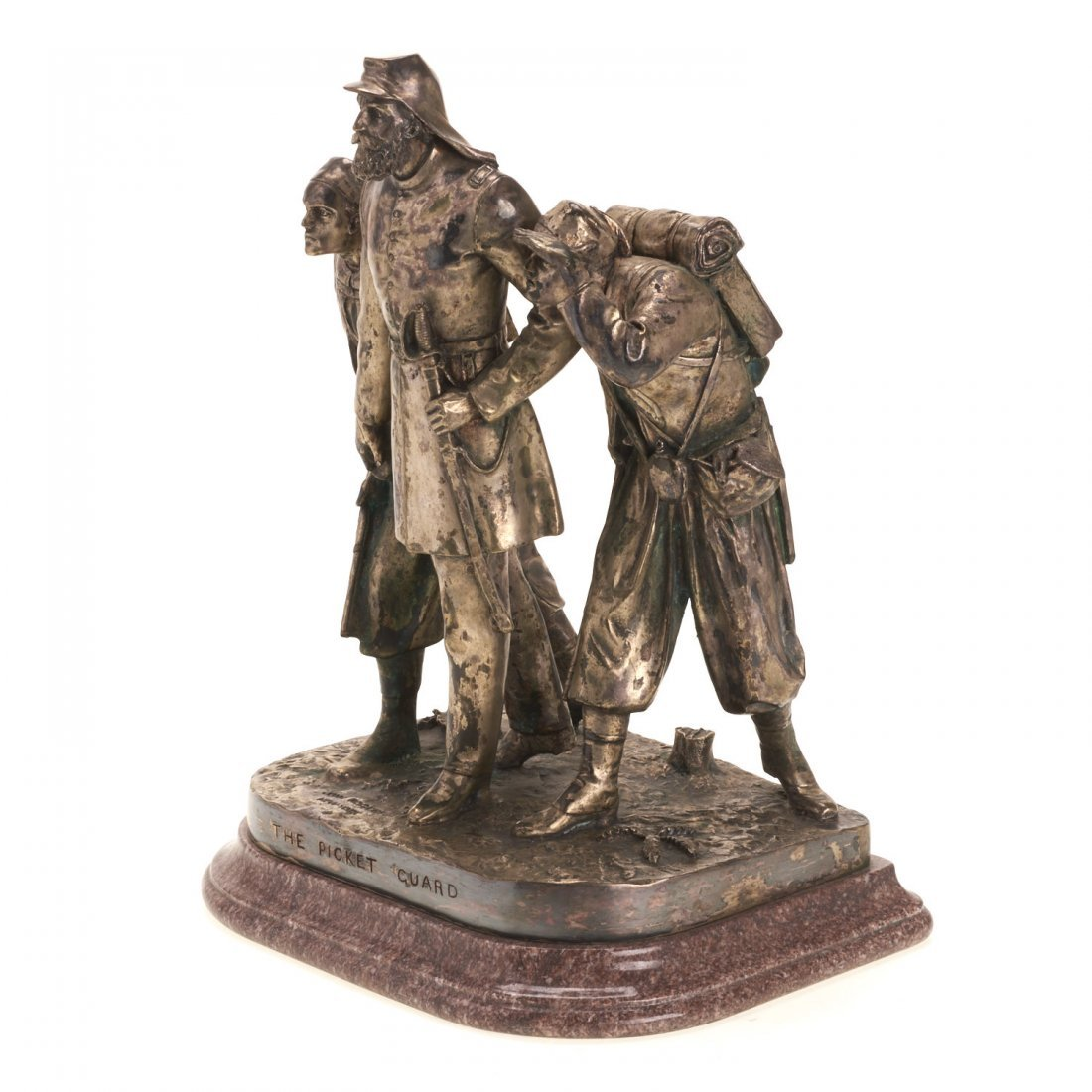 John Rogers, bronze sculpture - 4