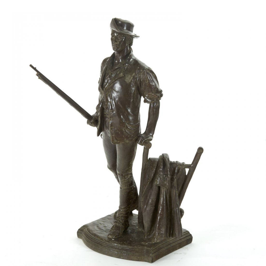 After Daniel Chester French, bronze sculpture