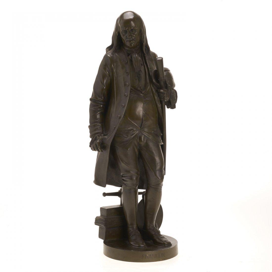 After Jean Jules Salmson, bronze statuette