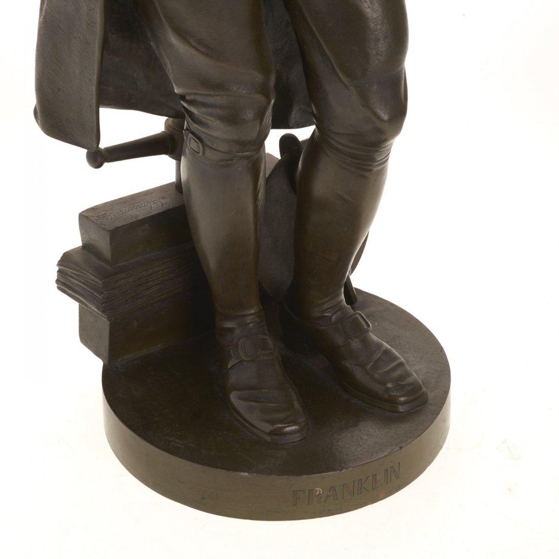 After Jean Jules Salmson, bronze statuette - 2