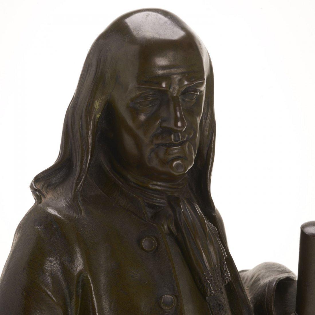 After Jean Jules Salmson, bronze statuette - 3