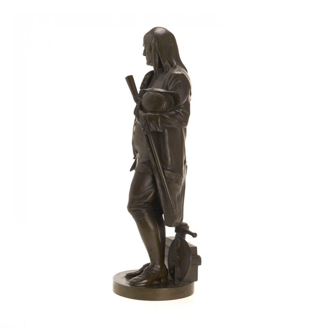 After Jean Jules Salmson, bronze statuette - 4
