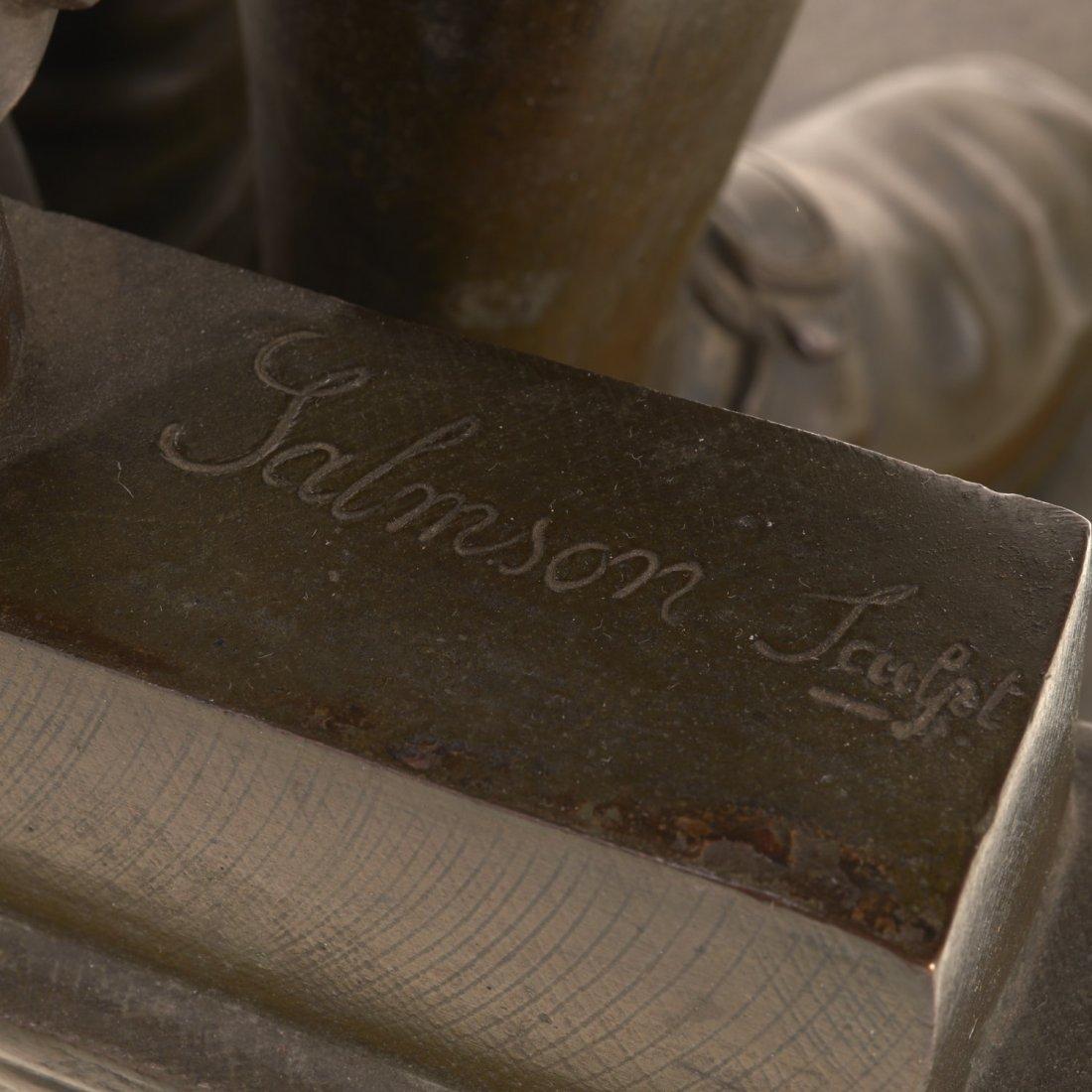After Jean Jules Salmson, bronze statuette - 6