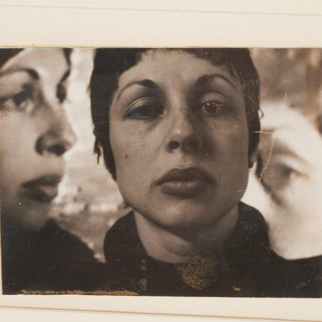 Lynda Benglis, polaroid print - 2