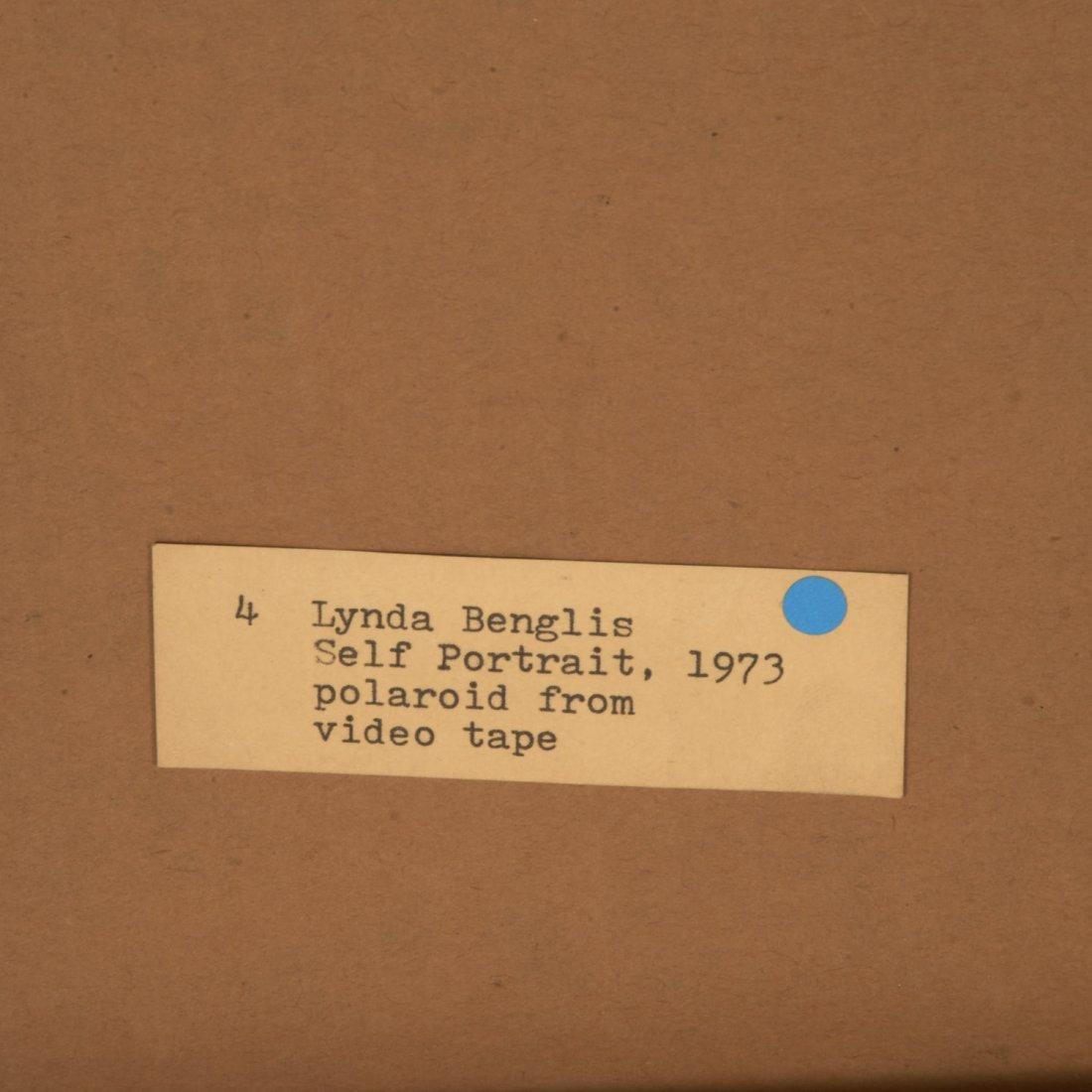 Lynda Benglis, polaroid print - 4