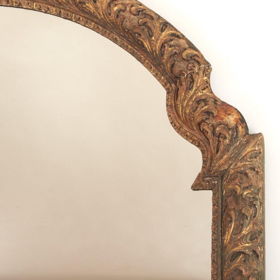 Impressive Louis XV giltwood wall mirror - 2