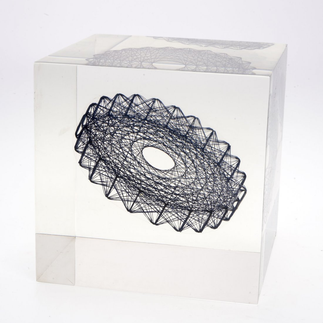 Sue Fuller, acrylic sculpture