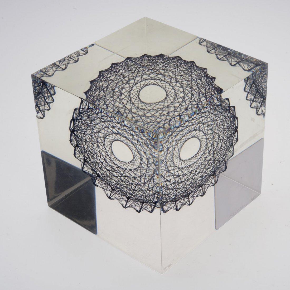 Sue Fuller, acrylic sculpture - 2