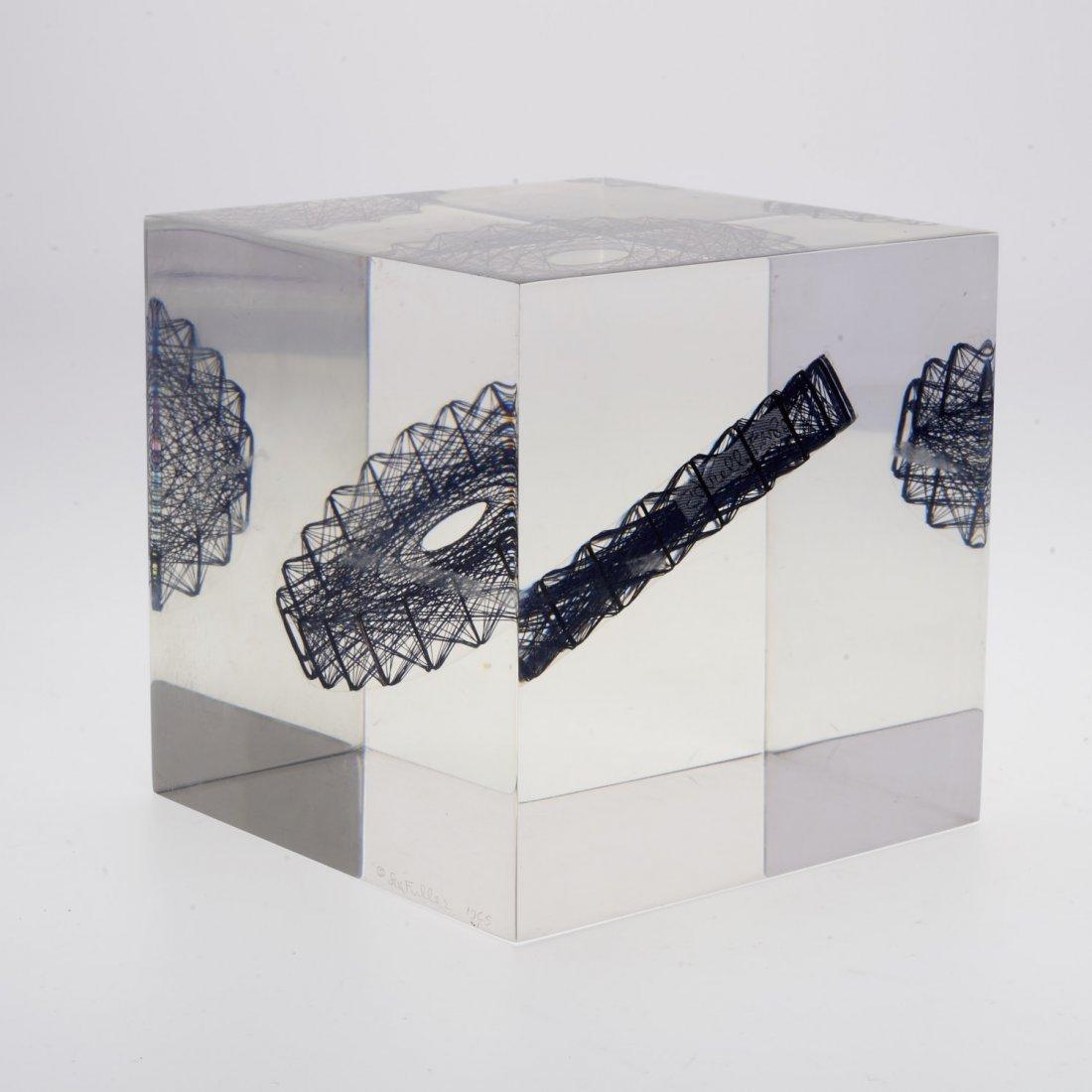 Sue Fuller, acrylic sculpture - 3