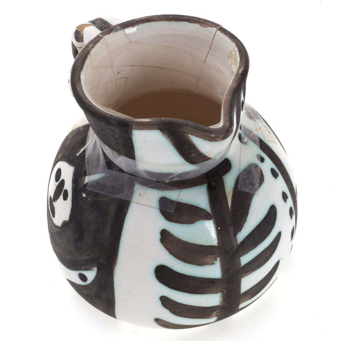 "Edition Picasso Madoura ""Pitchet Tetes"" pitcher - 3"
