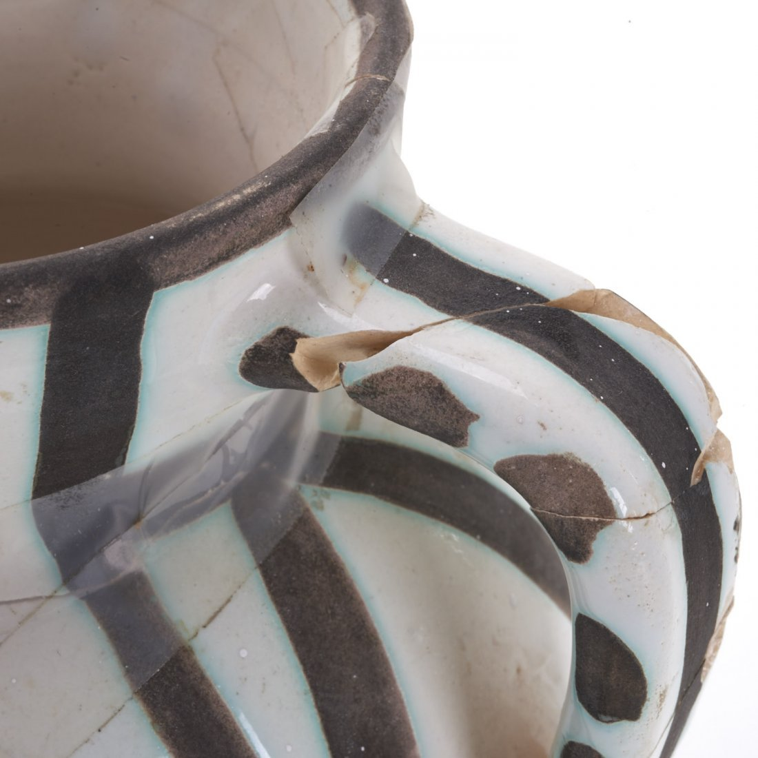 "Edition Picasso Madoura ""Pitchet Tetes"" pitcher - 5"