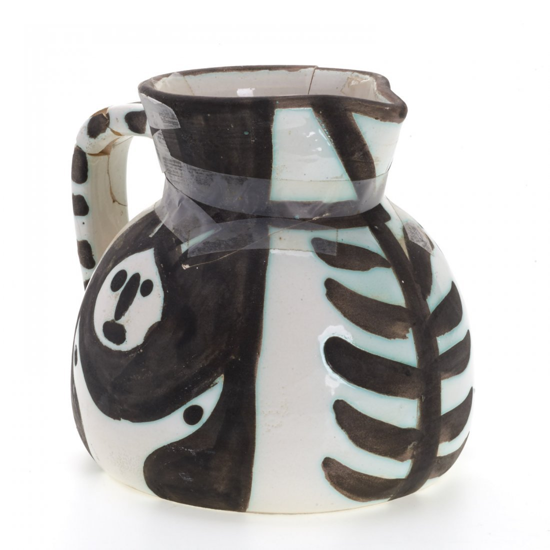 "Edition Picasso Madoura ""Pitchet Tetes"" pitcher - 7"