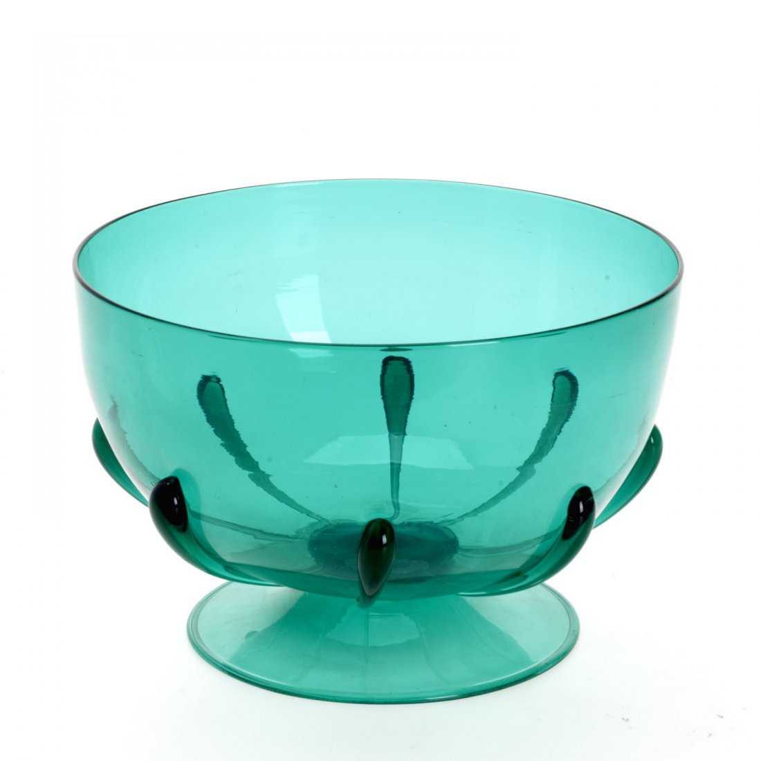 MVM Cappellin footed glass bowl