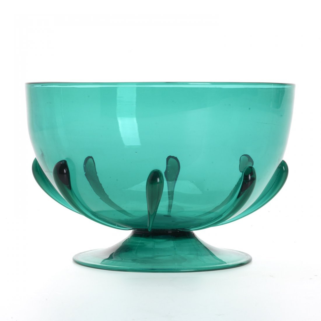 MVM Cappellin footed glass bowl - 2