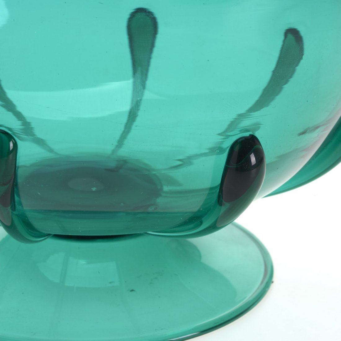 MVM Cappellin footed glass bowl - 4