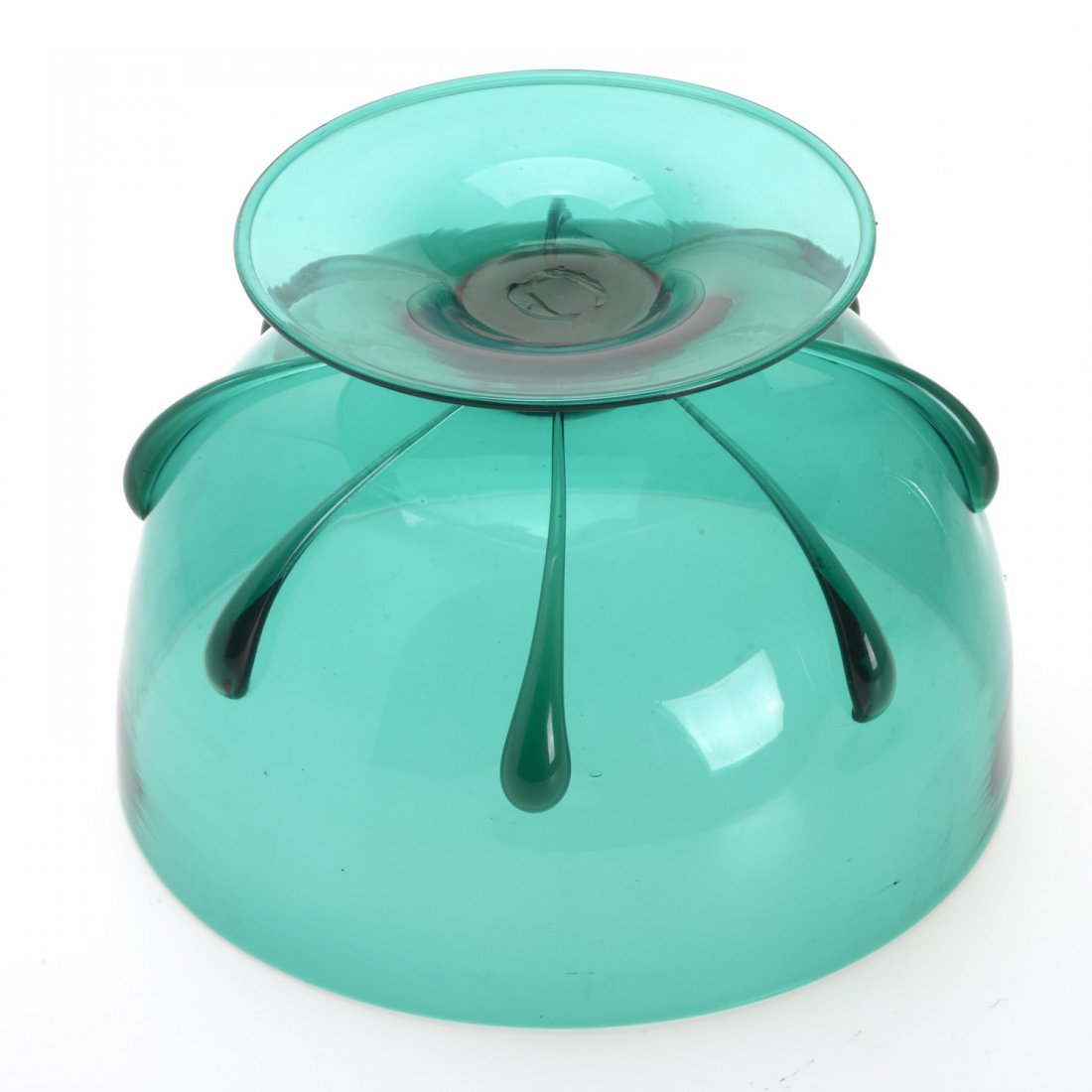MVM Cappellin footed glass bowl - 6