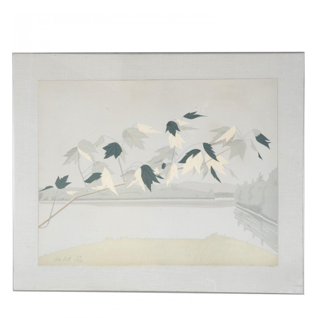 Alex Katz, limited ed. lithograph
