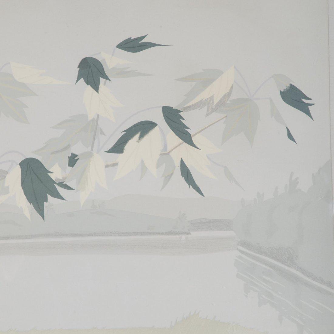 Alex Katz, limited ed. lithograph - 3