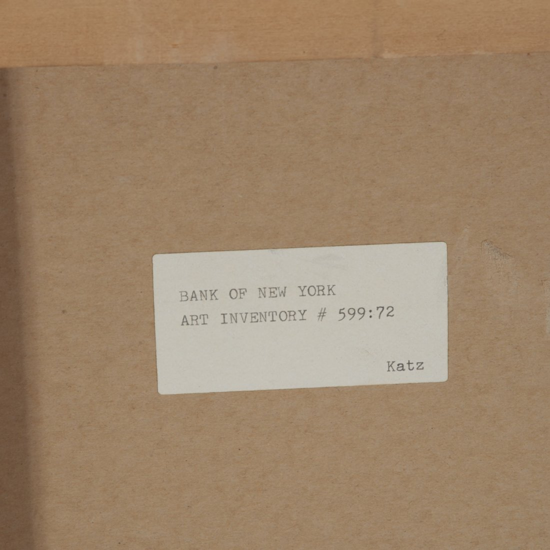 Alex Katz, limited ed. lithograph - 7