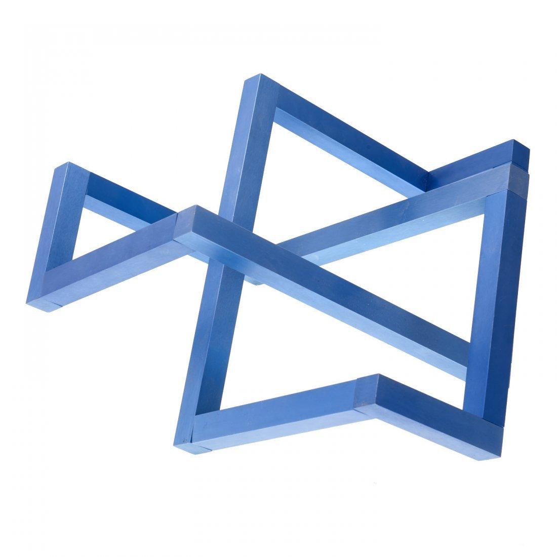 Forrest Myers geometric aluminum sculpture