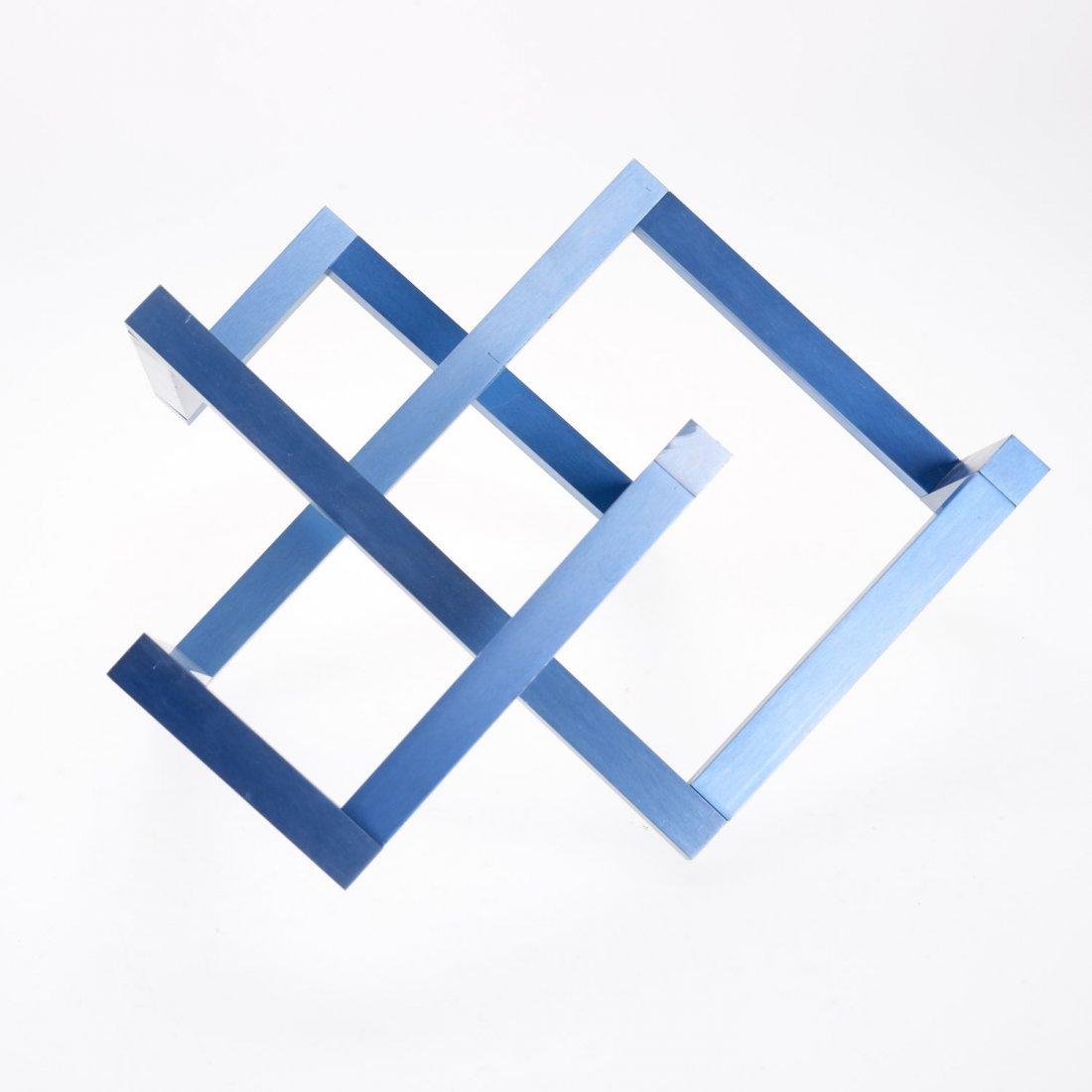 Forrest Myers geometric aluminum sculpture - 2