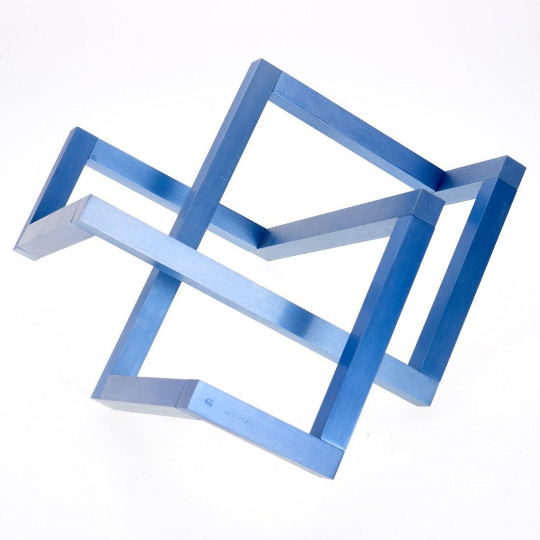 Forrest Myers geometric aluminum sculpture - 3