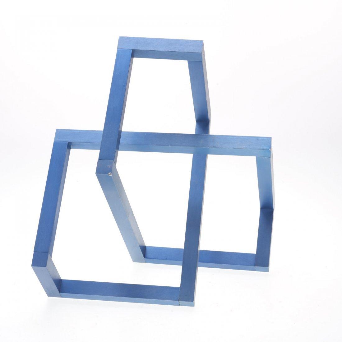Forrest Myers geometric aluminum sculpture - 4