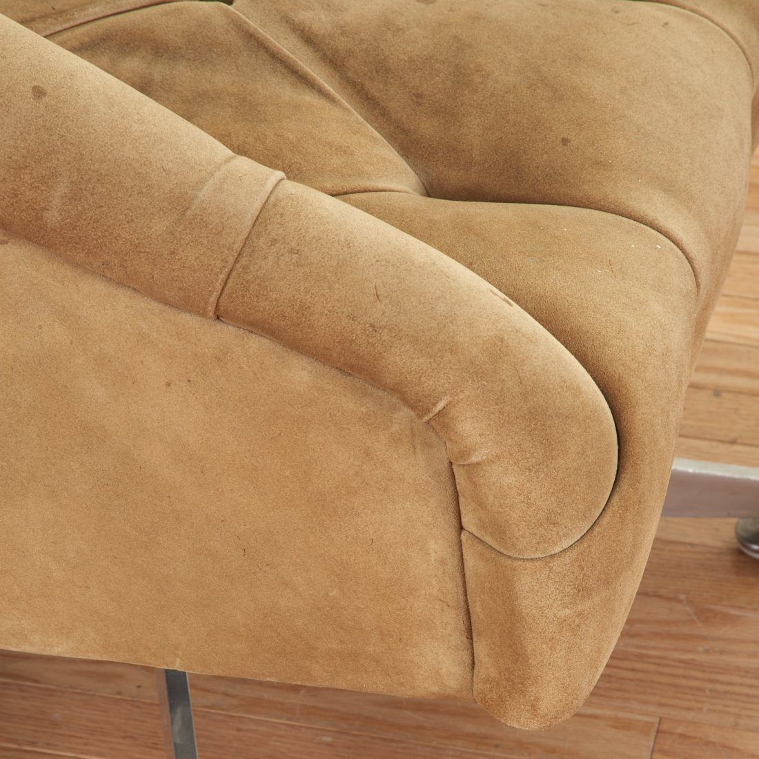 Pair Ward Bennett for Lehigh Leopold lounge chairs - 4