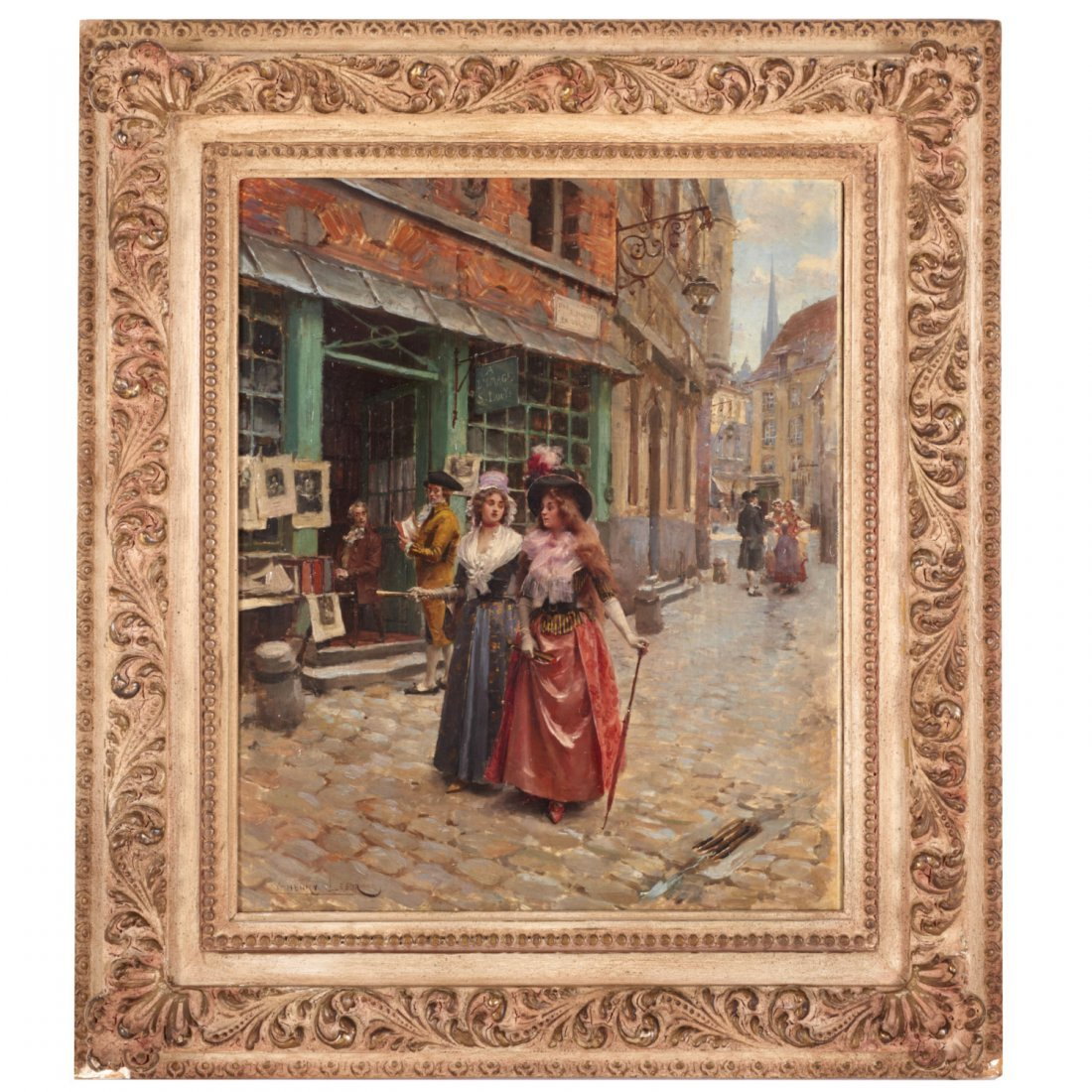 Victor Henri Lesur, painting