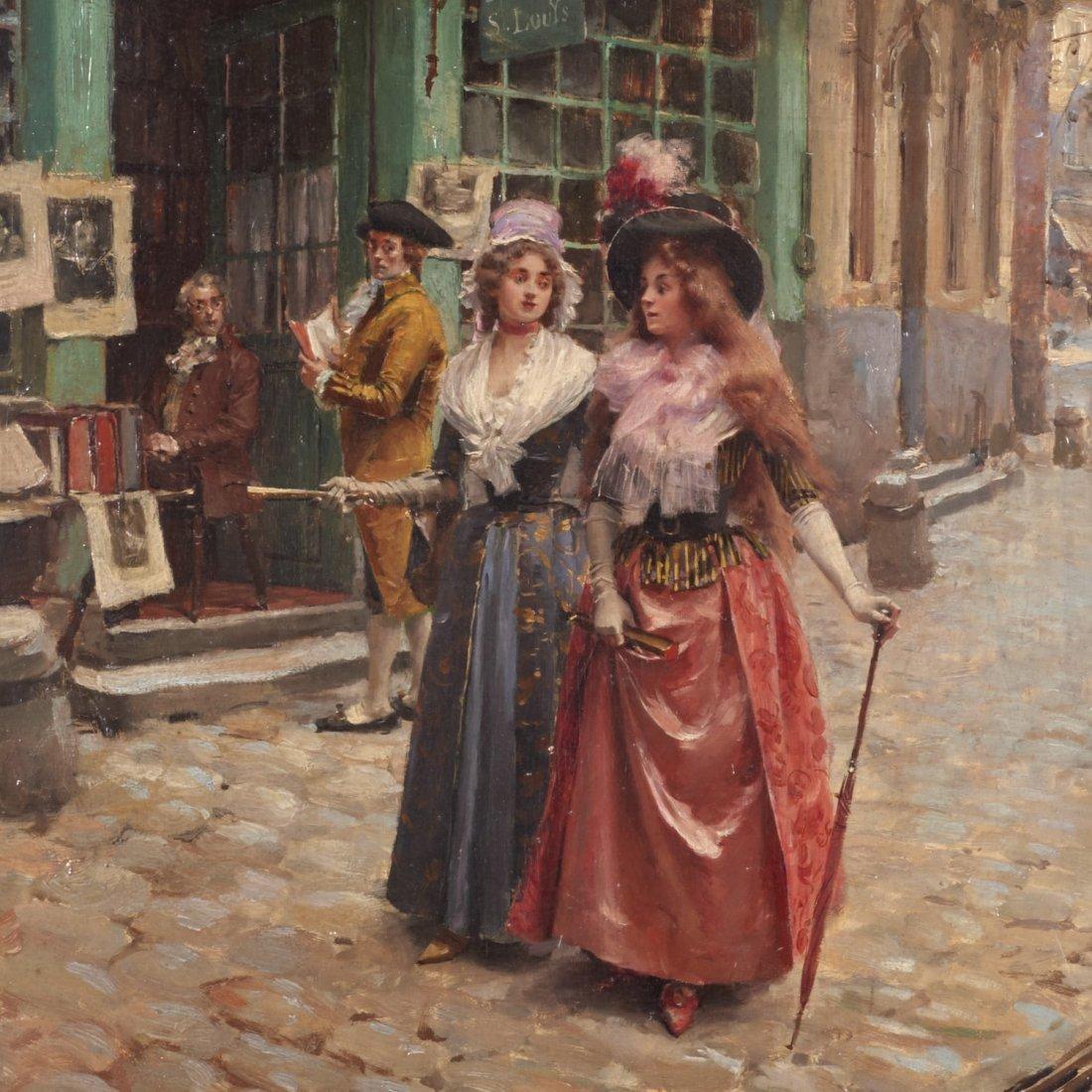 Victor Henri Lesur, painting - 2