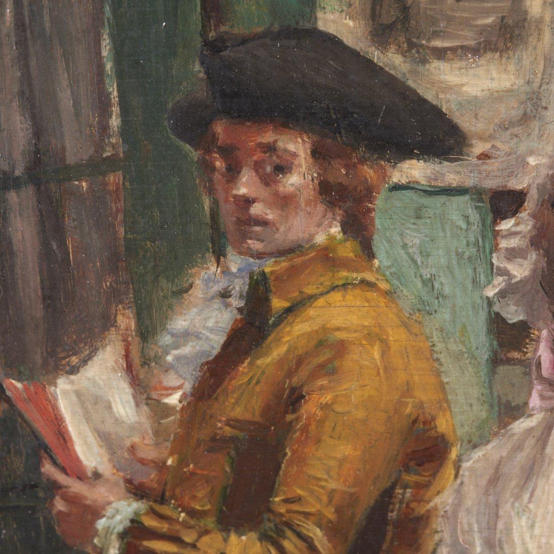 Victor Henri Lesur, painting - 3