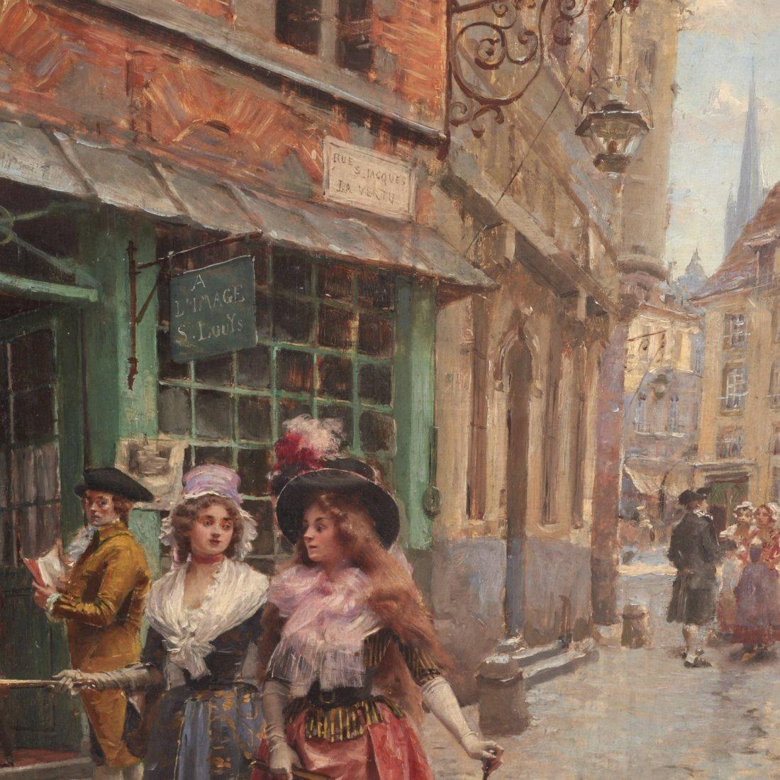 Victor Henri Lesur, painting - 5