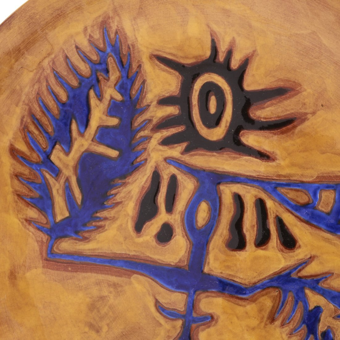 Jean Lurcat glazed ceramic dish - 2