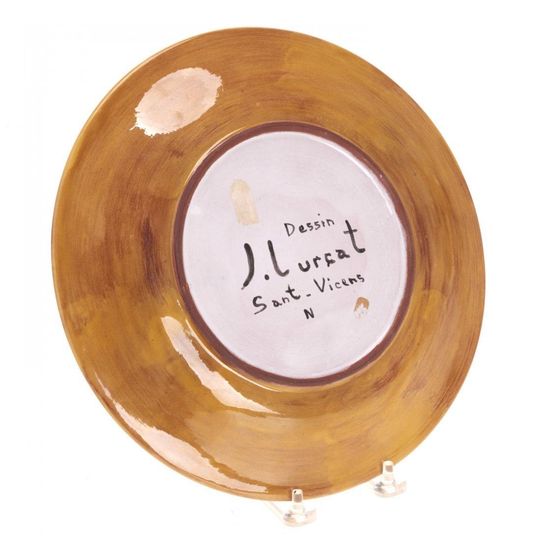 Jean Lurcat glazed ceramic dish - 4