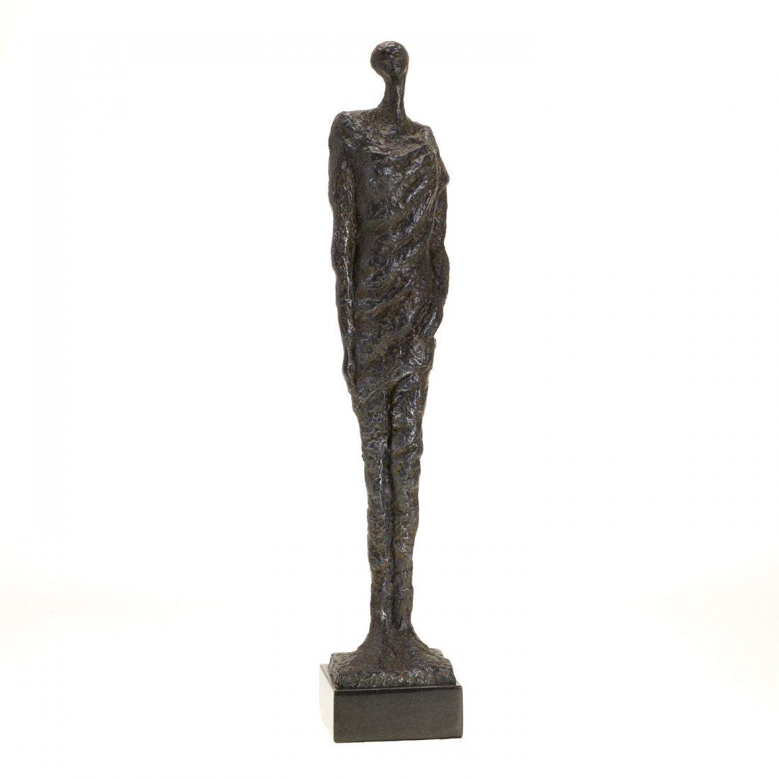 Manner Alberto Giacometti, bronze sculpture