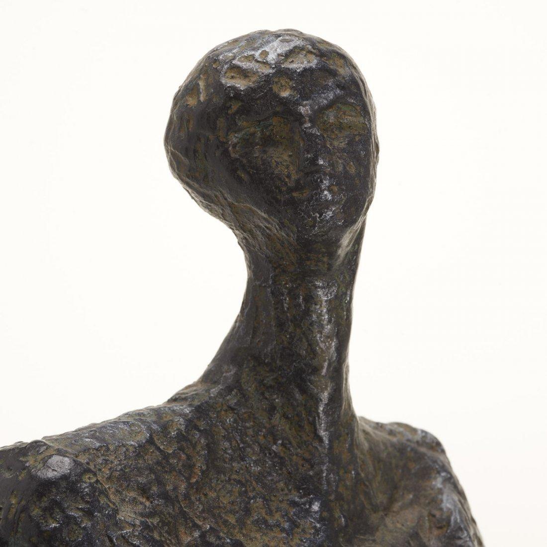 Manner Alberto Giacometti, bronze sculpture - 4