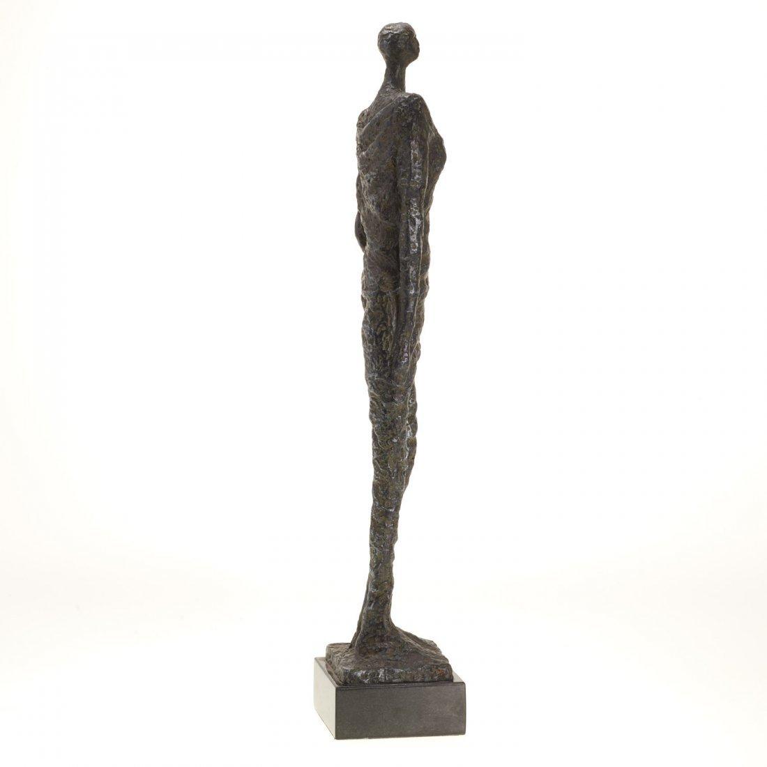 Manner Alberto Giacometti, bronze sculpture - 5