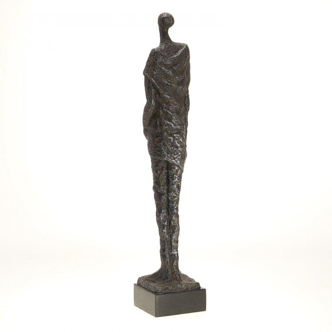 Manner Alberto Giacometti, bronze sculpture - 6