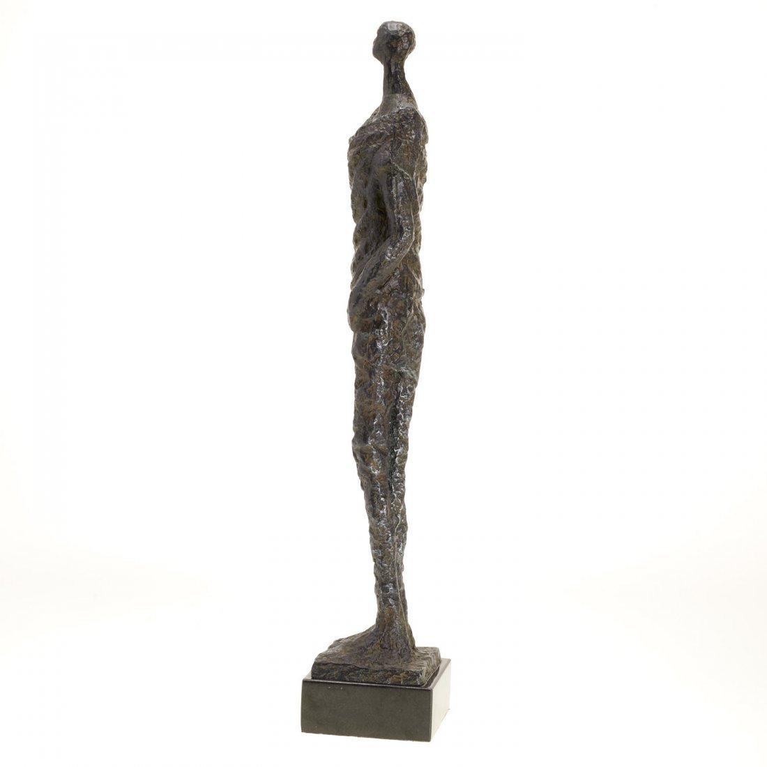 Manner Alberto Giacometti, bronze sculpture - 8