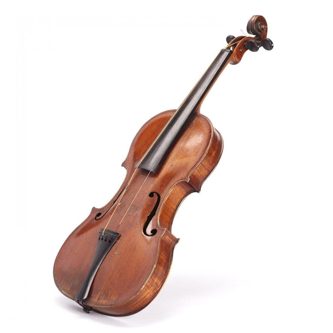Antique violin, Robert Volkmann