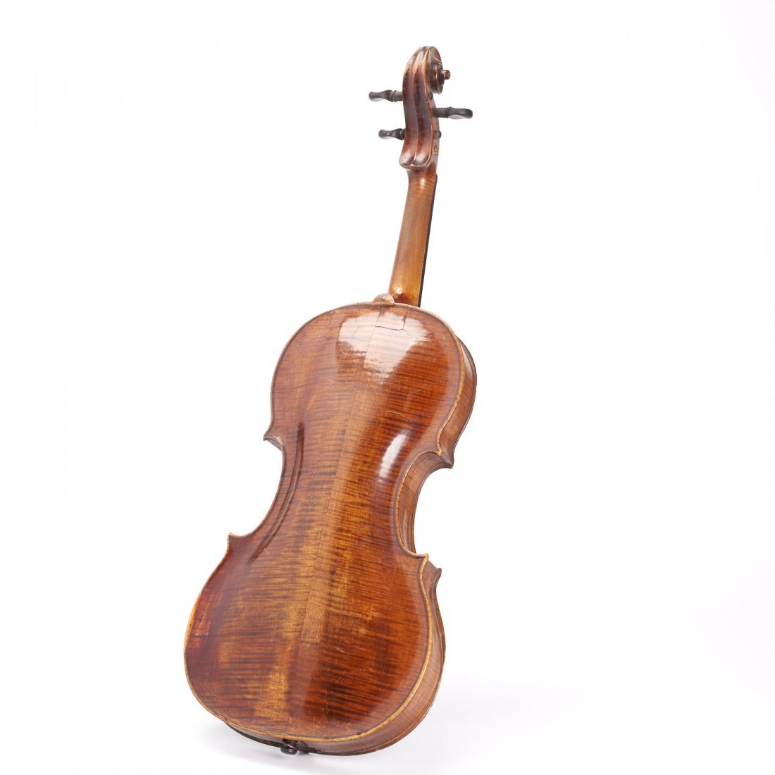 Antique violin, Robert Volkmann - 2