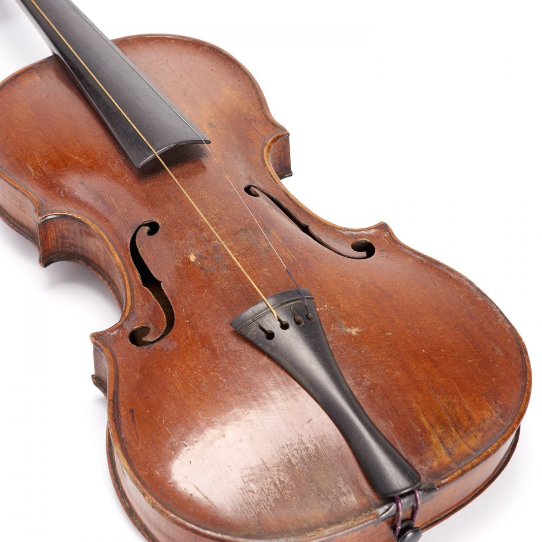 Antique violin, Robert Volkmann - 5