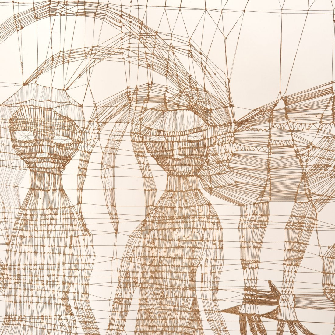 Circle of Sue Fuller, large string composition - 3
