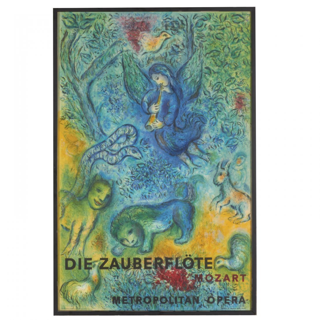 Marc Chagall, lithograph poster