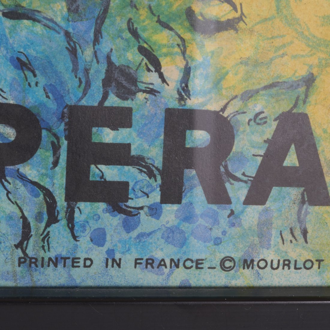 Marc Chagall, lithograph poster - 3