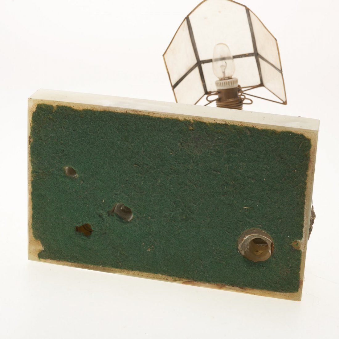 Carl Kauba, automation bronze desk lamp - 10