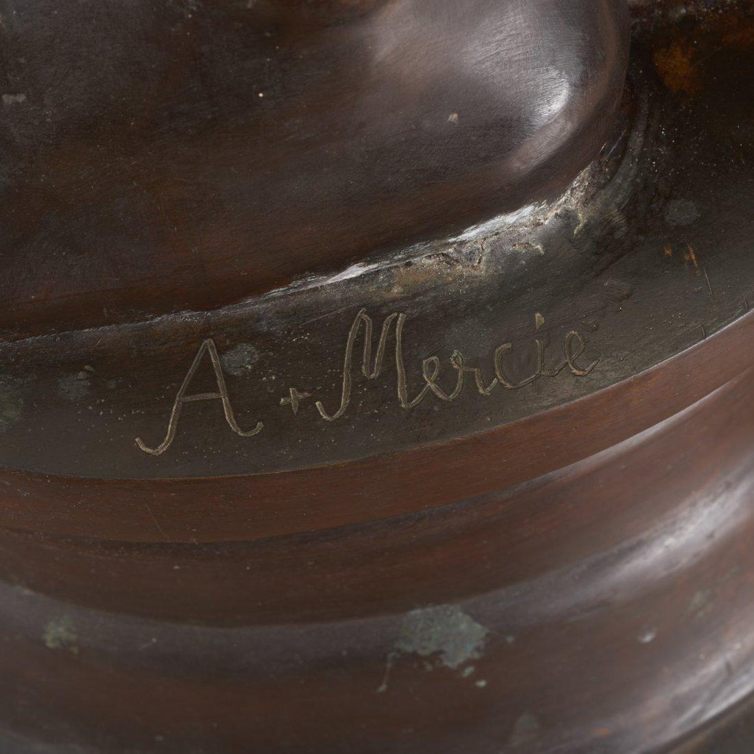 After Antonin Mercie, life-size bronze - 10